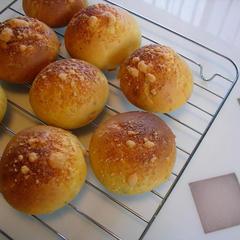 チーズの米粉パン