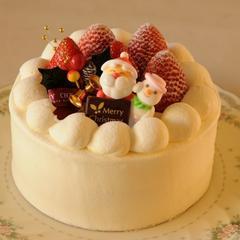 苺のショートケーキ(クリスマス)