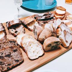 試食のパンたち