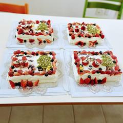 BOOK型ケーキのレッスンが始まりました💕