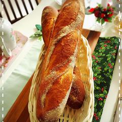 終盤の休憩タイムは講師の焼くパンをお出ししています♪