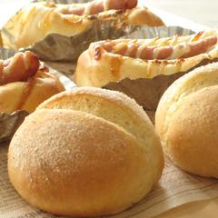 手ごねパン・グラハムロール&グラハムウィンナー