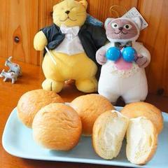 8月パン1dayレッスン 冷やしても美味しいクリームパン