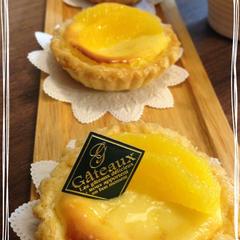 フレッシュオレンジのチーズタルト