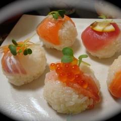 お料理コース/手まり寿司