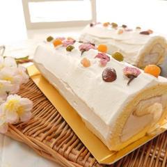 生菓子「桜ろうる」4月お薦めレッスン♪