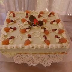 72歳のバースデーケーキ♪