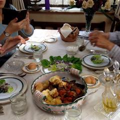 或る日のテーブル