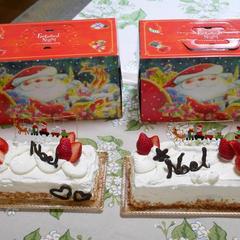 クリスマスケーキ教室が始まりました🎄今年も可愛いです♪