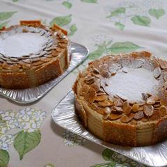 洋菓子コース プラリネクリームのリッチなケーキ「マスコット」