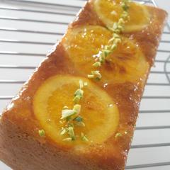 爽やかな 香りでいっぱいのオレンジのパウンドケーキ