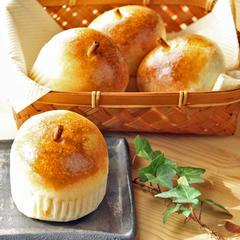 可愛らしいりんごパン