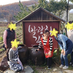 2018年平昌のキムチ名人パク先生の元でキムチ修行