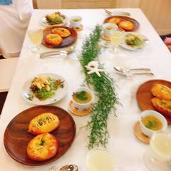 通年レッスン(2種のお惣菜パン)