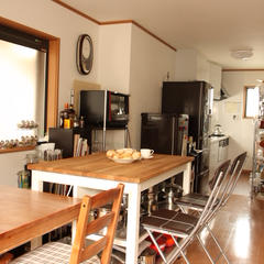 自宅のリビングとキッチンで開講しています。