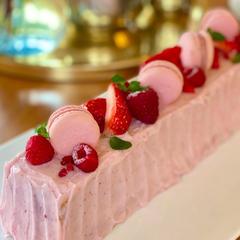 ラズベリー味のフランス菓子「フランボジェ」甘酸っぱくて美味