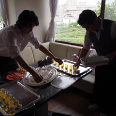 出張料理♪ ケータリングです(^-^)