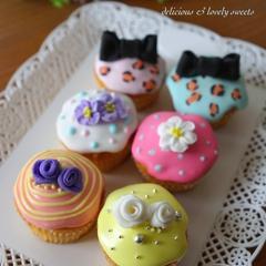 『デコレーションカップケーキ』〜アイシングバージョン〜