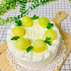 季節のフルーツのショートケーキ