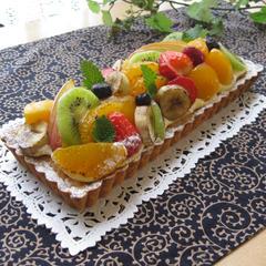 フルーツのタルト