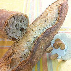 ご家庭で再現可能なハード系パンが学べます