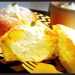 かぼちゃの生シフォンケーキ