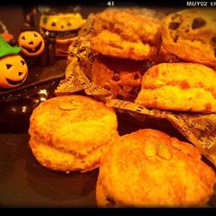 かぼちゃスコーン