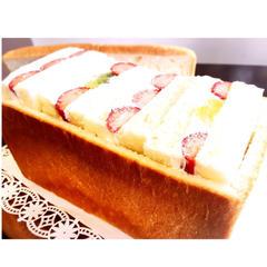 フルーツサンド用ミルク食パン