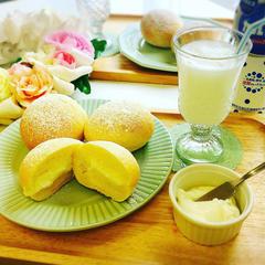 新作メニュー カルピスクリームパン