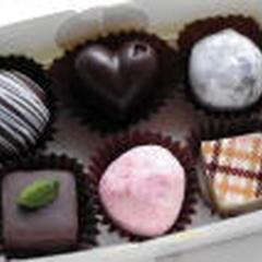 ショコラ:毎回3種類の講習。12ケはお土産です