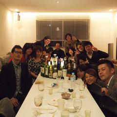 ワイン持ちよりパーティーもあります!