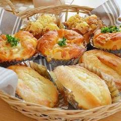 体験レッスンでは3種類のパンを作りますよ!