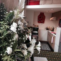 お花がある空間、大好き♡
