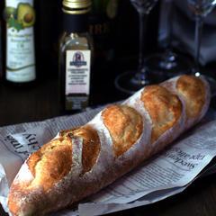 家庭のオーブンで焼ける美味しいフランスパンのレッスンも!