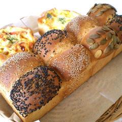 パンコース・ライ麦のちぎりパン