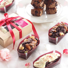 バレンタインブラウニー、チョコレートスコーン