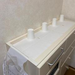洗面所で手洗いウガイを済ませて入室いただきます。