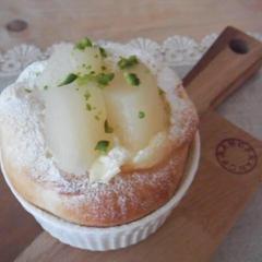 フロマージュ  チーズクリームにフルーツをのせて