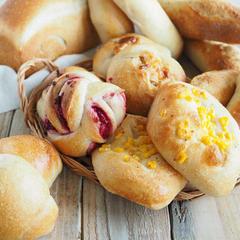 いろんな種類の酵母パンを作ることができるようになります