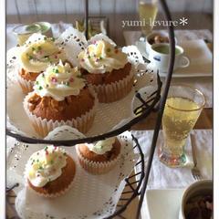 12月*お楽しみオヤツはカップケーキでした