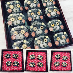 チャリティーレッスン✨くまモンの飾り巻き寿司