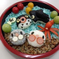 デコ寿司の海の仲間たち