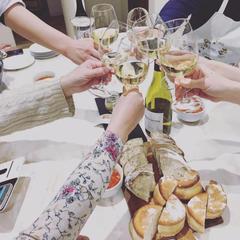 ワインやお花など・・・パンとコラボしたイベントも行っています
