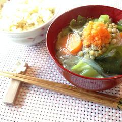 玄米ご飯と味噌汁の講座