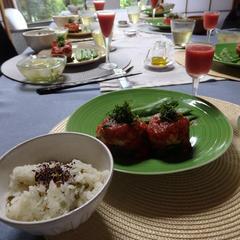 「季節の薬膳レッスン-夏」採れ立て野菜が主役です。