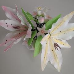 シュガークラフトで作るお花です