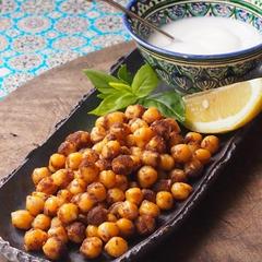 地中海料理レッスンより、ヒヨコ豆のスパイシーソテー