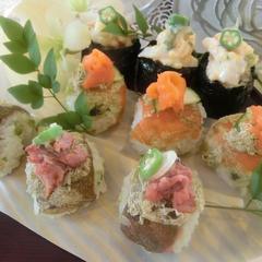とろろ昆布手まり寿司