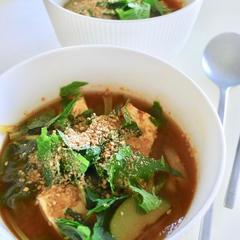 6月初夏の韓国料理レッスン・夏野菜で韓国風味噌汁