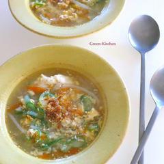 4月レッスン「もやしと卵スープ」